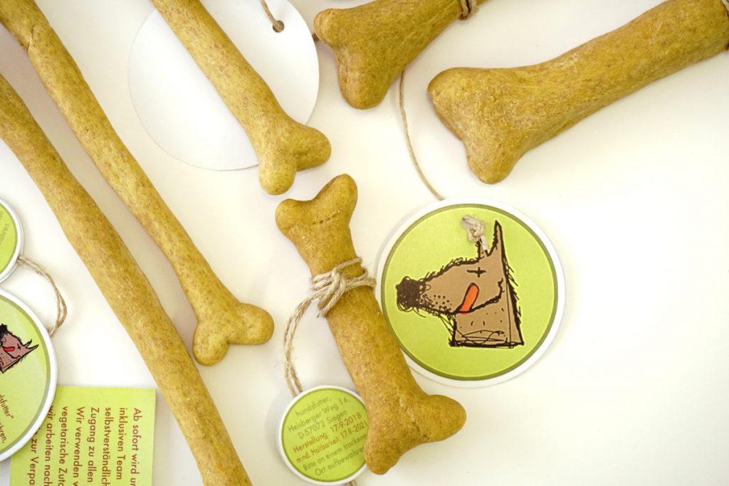 Cookies Snacks behandler belønning for hunde naturligt vegansk vegetarisk sundt