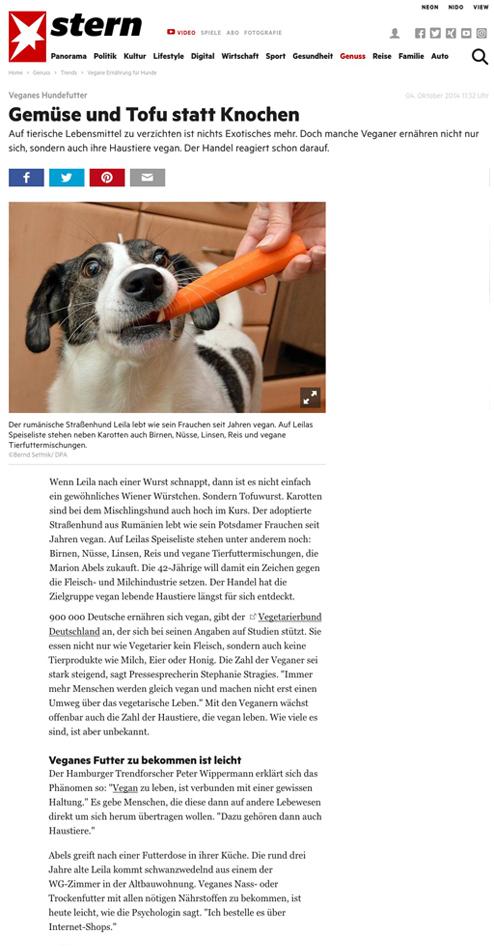 Vegane vegetarische Snacks für Hunde