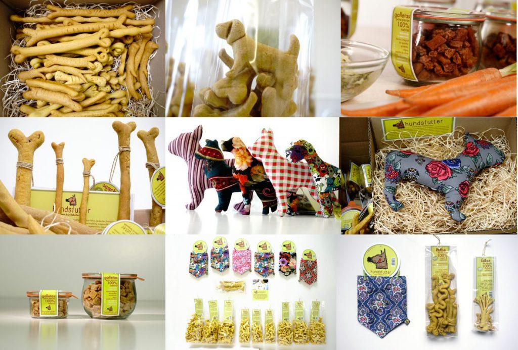 vegane vegetarische hypoallergene Hundekausnacks, weiche Kekse, nachhaltige Geschenke und individuelle bandanas hier online fair shoppen.