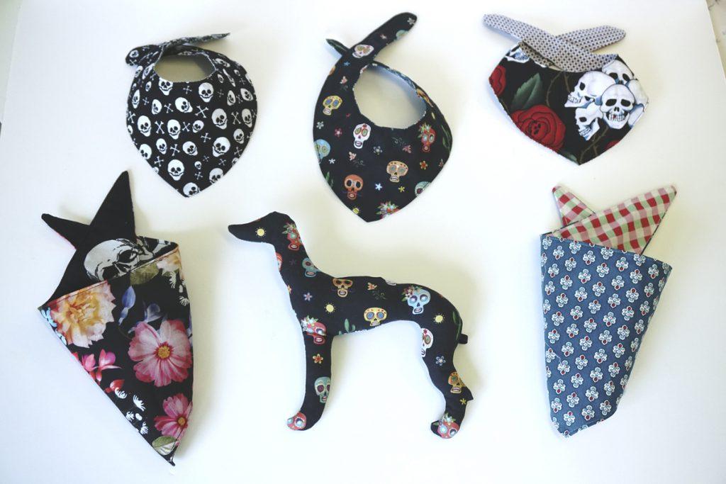 Hundehalstücher bandanas Hundeaccessoires Hundesnacks nachhaltig fair vegan vegetarisch