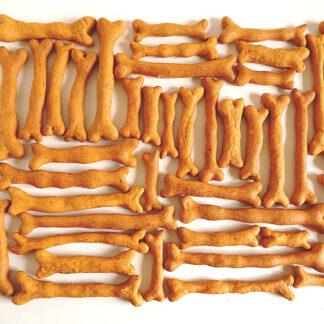 Knusprige Hundekauknochen voller Nährstoffe - hypoaññergen, natürlich, vegan, gesund, lecker
