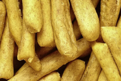 vegane leckere Möhren/Dinkel Kausnacks mit Oliveröl reinigen die Zähne, trainieren das Gebiss und machen viel Spass