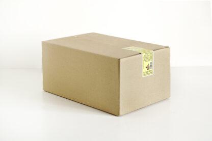Vegane Snackbox Apfel/Nuss Möhre/Dinkel im Recycling Karton