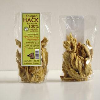 Vegane Knusper Hack Hunde Snacks von hundsfutter