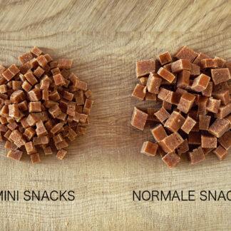 Mini Snacks für sehr kleine Hunde weich vegan ohne Konservierungsstoffe