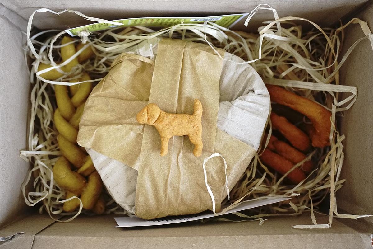individuelle Hundesnackboxen die gesund und lecker sind von hundsfutter